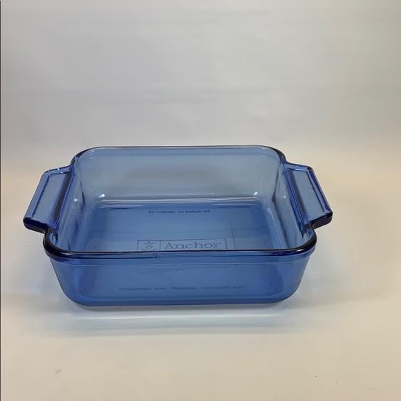 Anchor Hocking Kitchen 8 X 8 Baking Dish 2 Quart Blue
